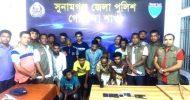সুনামগঞ্জে শিলং তীর জুয়ারির ১২ সদস্য আটক