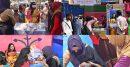 কুলাউড়ায় বাঙ্গালীর প্রাণের পিঠা উৎসবে বসন্ত বরণ
